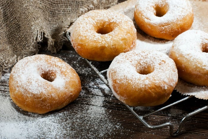 Homemade donuts are easy to make and much less expensive than their store bought counterparts. This fool proof recipe is perfect for delicious donuts.