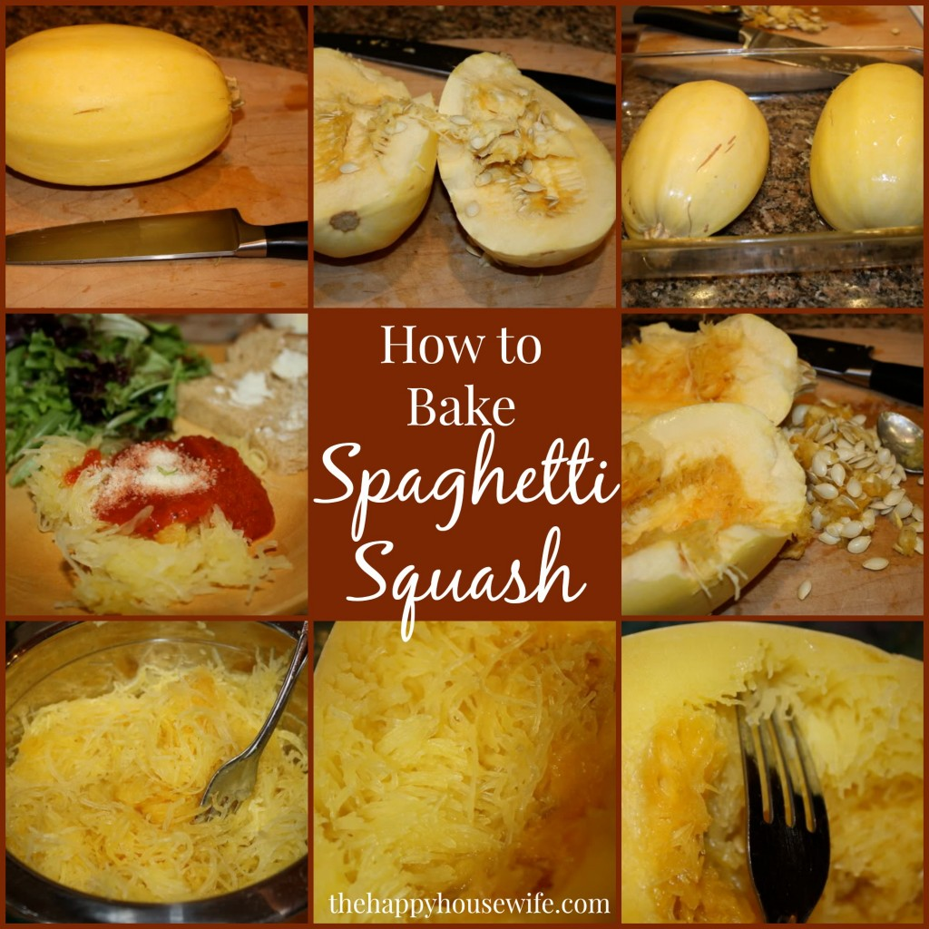 bake spaghetti squash