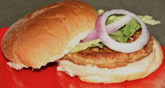 salmon burger