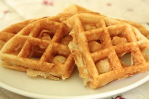 Whole Wheat Corn Waffles - The Happy Housewife™ :: Cooking