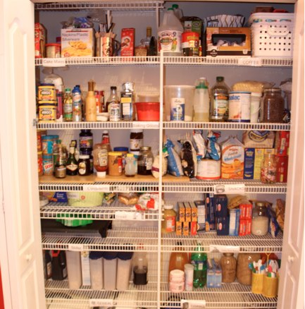 how to organize my pantry apps directories