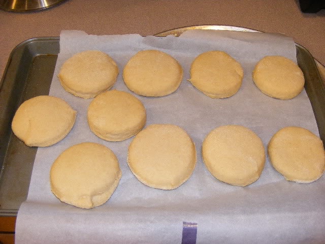 Homemade English Muffins - The Happy Housewife™ :: Cooking