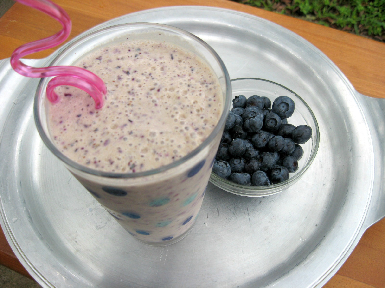 Very Blueberry Smoothie at The Happy Housewife
