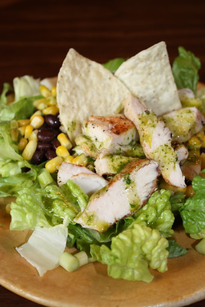 Cuban Grilled Chicken Salad Recipe — Dishmaps