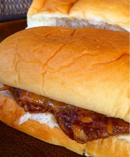 Mini BBQ Chicken Sandwiches