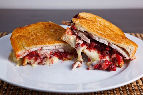 Grilled Turkey and Brie Sandwich with Cranberry Chutney 1 500