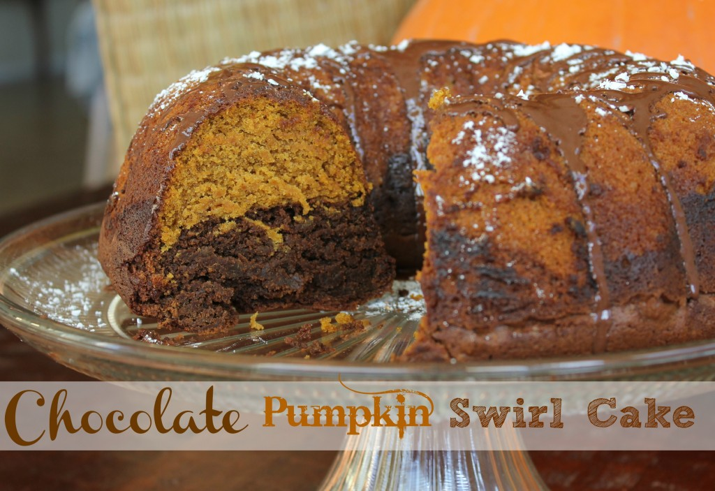 cake is moist and delicious, with just the right amount of pumpkin ...