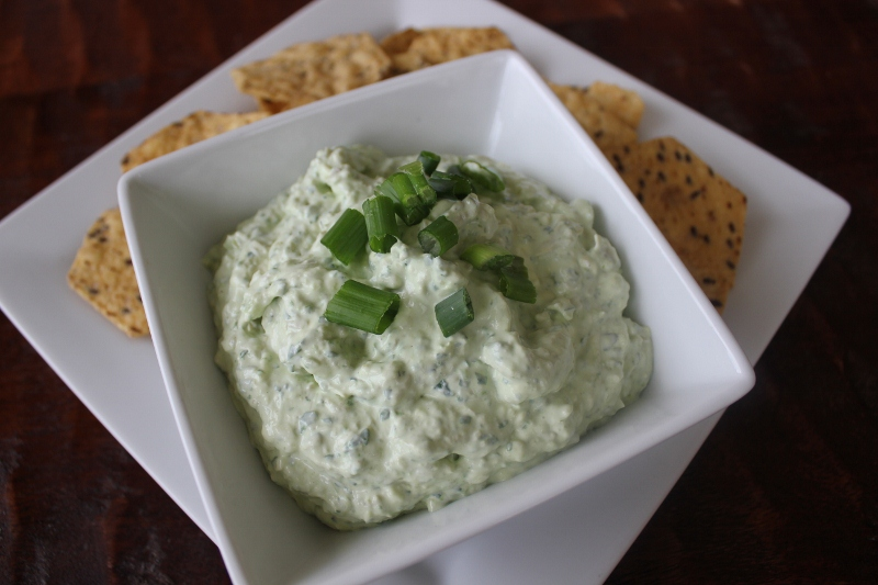 No-Bake Spinach Artichoke Dip at The Happy Housewife