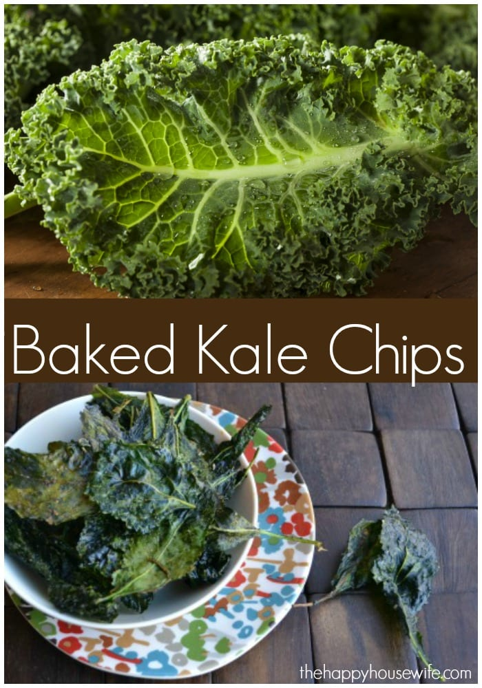 Have you tried making baked kale chips? I was shocked the first time we tried them. Baked kale chips taste so much like a potato chip yet they are a much healthier alternative. What's more: they are really easy to make and take virtually no time to prepare.