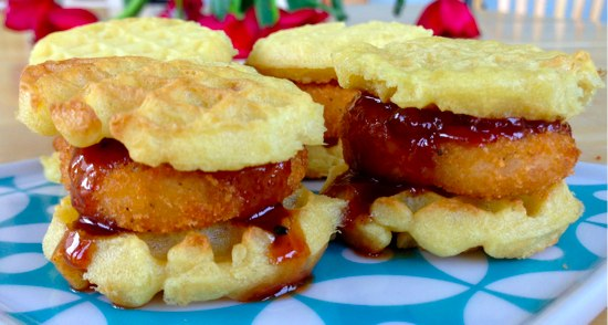 Chicken and Waffle Minis