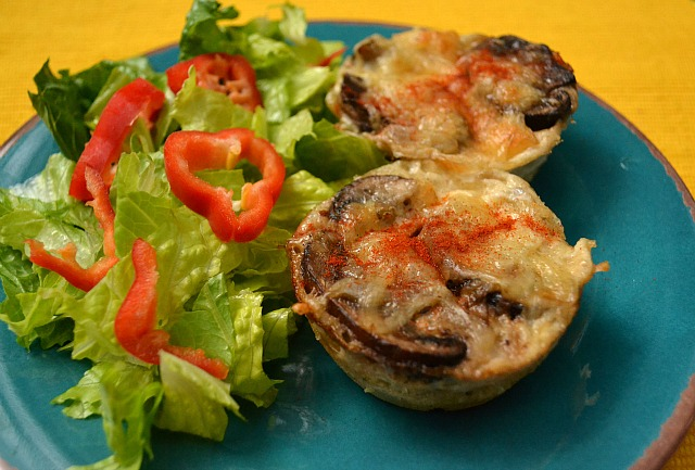 Game Day Recipes - Bacon Swiss Quiches