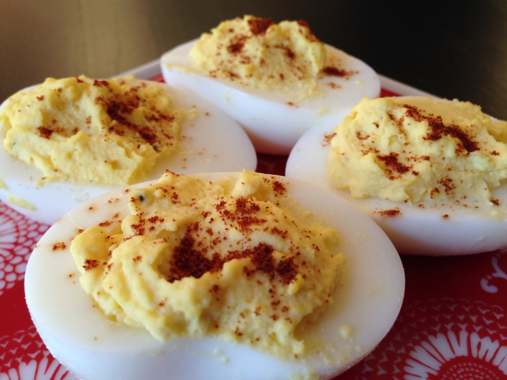 Best Deviled Eggs at The Happy Housewife