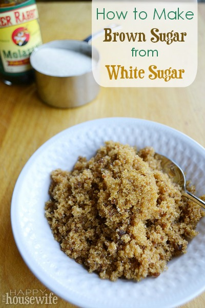 How to Make Brown Sugar from White Sugar - The Happy Housewife ...