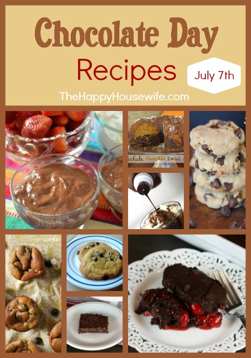 Chocolate Day Recipes at The Happy Housewife