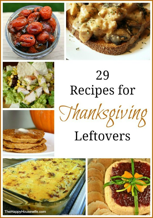 29 recipes for thanksgiving leftovers the happy for What to make with leftover applesauce