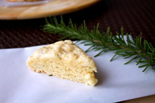 Lemon Rosemary Scones - 9 Delicious Lemon Recipes at The Happy Housewife