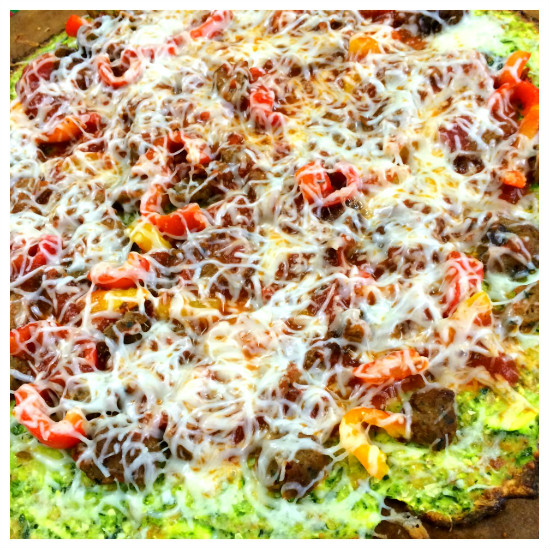 7 Delicious Ways to Use Zucchini (Zucchini Pizza Crust) at The Happy Housewife