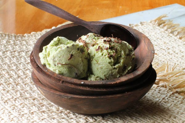 This dairy-free Mint Chocolate Chip Ice Cream never lasts long, and no one ever figures out there are healthy ingredients within!