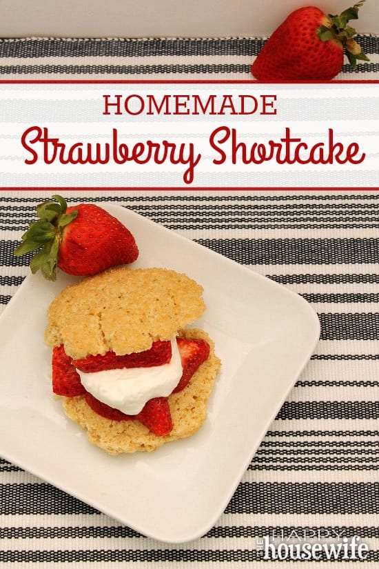 Once you've tried this easy, homemade Strawberry Shortcake you'll never turn back to store bought. This recipe combines common ingredients with easy steps so that you can impress your friends and neighbors .