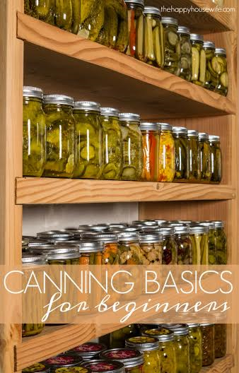 Canning gives you the option to preserve foods when they are in season. Here are basic canning tips to help you get started if you are new to canning.