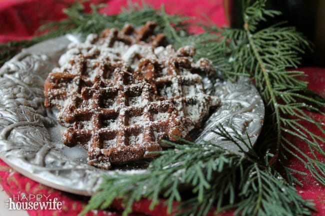 These paleo boot tracks cookies are really fun and easy for Christmas. The picture of boot tracks in the snow makes for a festive and unique cookie.