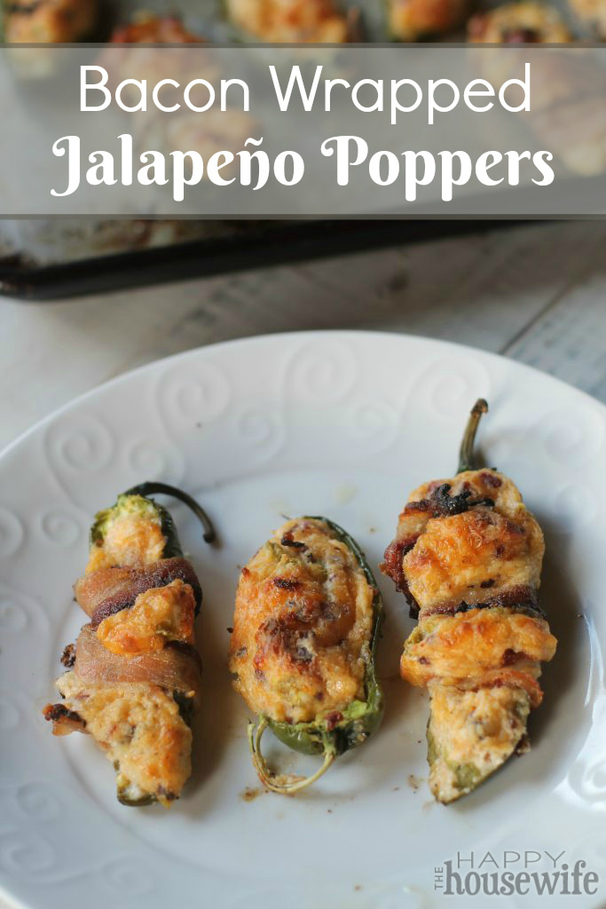 Jalapeño poppers make a great appetizer or a fun football snack. Everyone always loves these. They just happen to be gluten free and grain free.