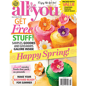free digital copy all you magazine All You Magazine: Free Digital Copy + Coupon
