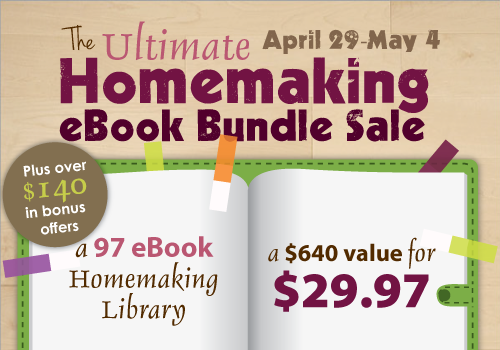 ultimate homemaking ebook