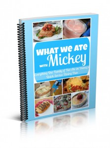 what we ate with mickey ebook