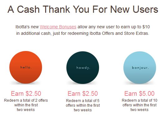 ibotta extra cash for new users