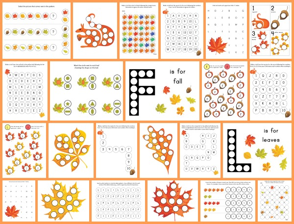 Fall-Do-a-Dot-Collage