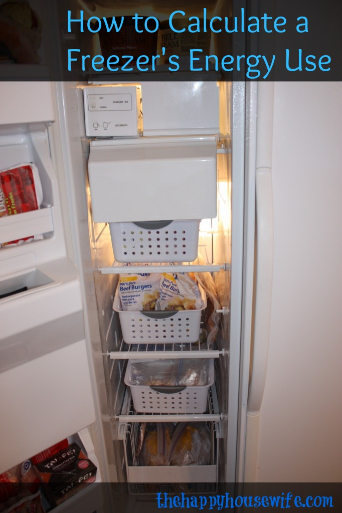 freezer energy savings