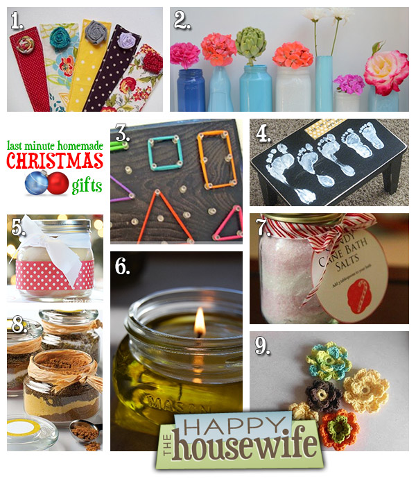 Last Minute Homemade Christmas Gifts The Happy Housewife