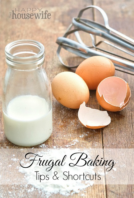 Frugal Baking Tips & Shortcuts | The Happy Housewife