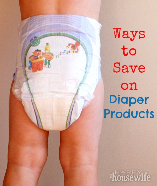 Ways to Save on Diaper Products | The Happy Housewife