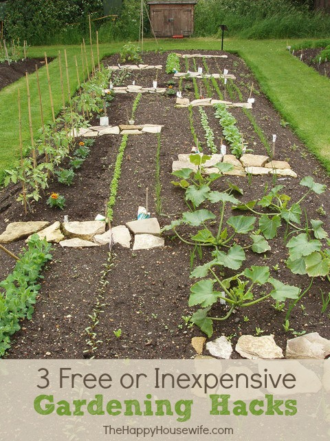 Free or Inexpensive Gardening Hacks