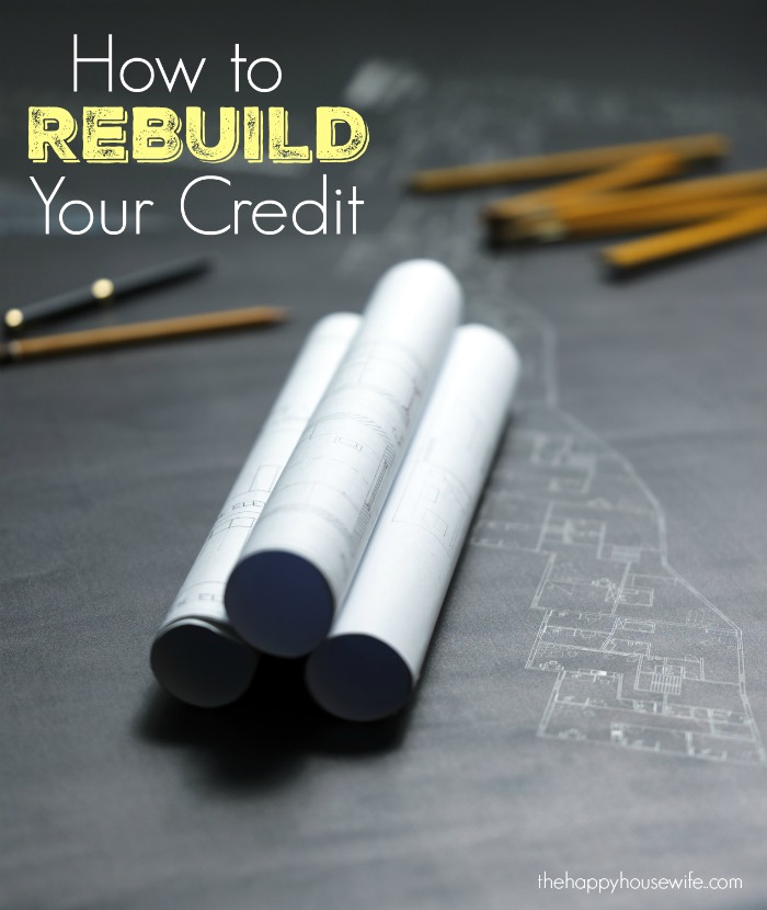 5 simple ways to rebuild your credit
