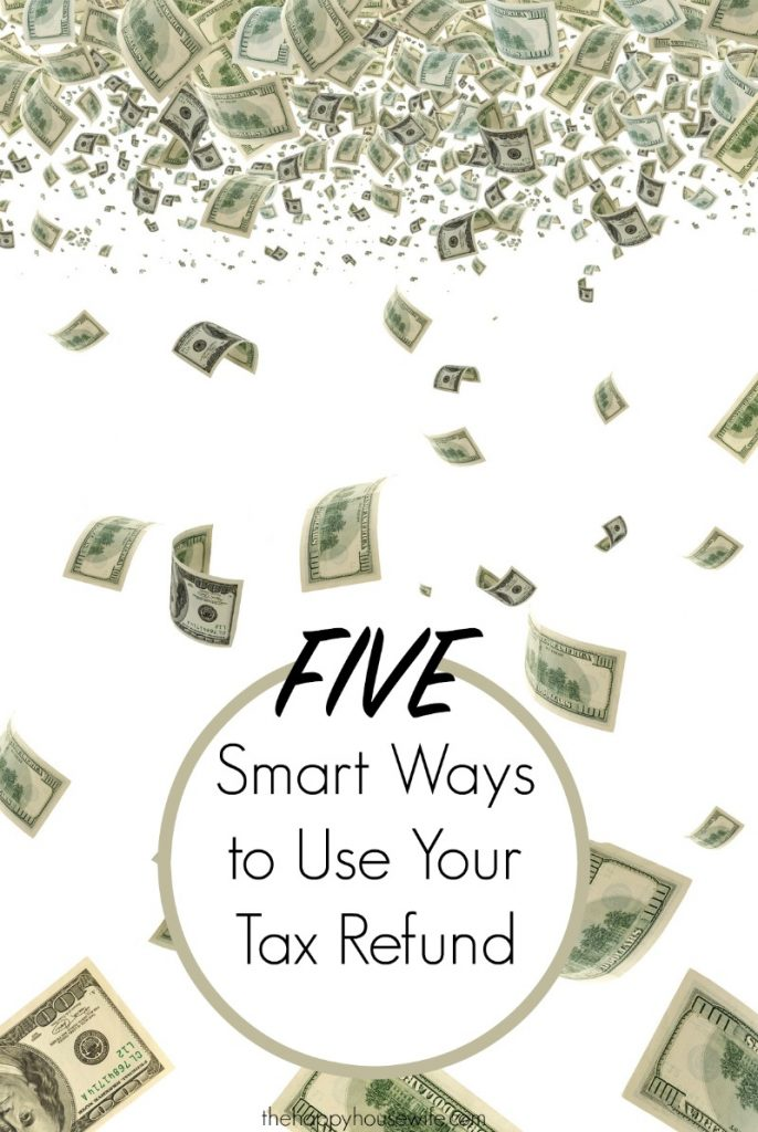 By now most people have filed and received their tax refund. In fact, I can remember trying to file as early as possible when we knew we were getting a refund. While it can be tempting to blow your tax refund on fun and entertainment here are five smarter ways to spend your money.