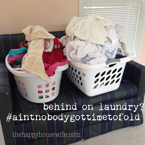 7 Simple Ways to Manage Laundry This Summer | The Happy Housewife