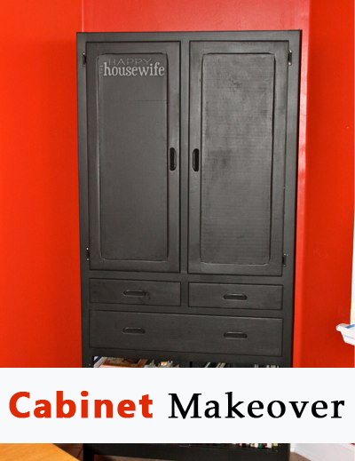 Cabinet Makeover | The Happy Housewife