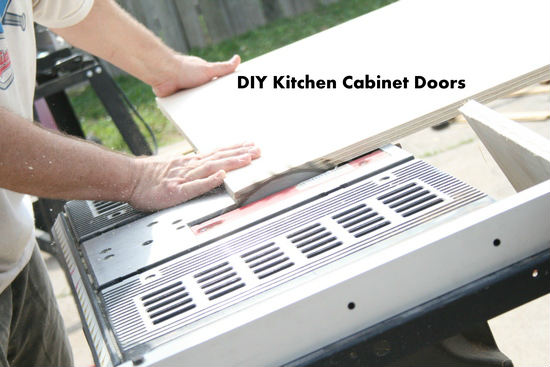 How to Make Kitchen Cabinet Doors - The Happy Housewife™ :: Home ...