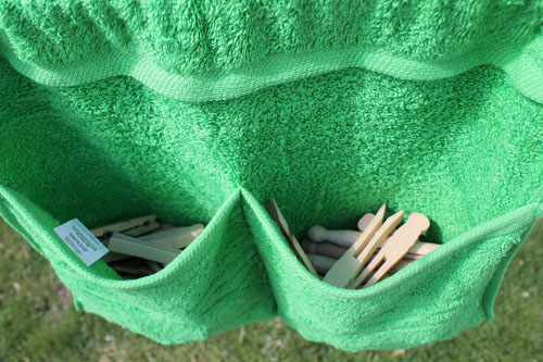 How To Make A Clothespin Bag The Happy Housewife