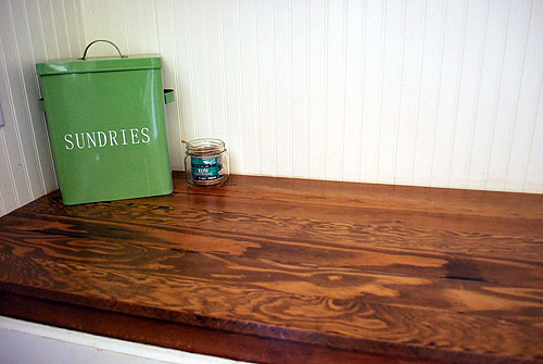 Make Your Own Wood Countertops - The Happy Housewife™ :: Home Management - Make Your Own Wood Countertops - The Happy Housewife™ :: Home