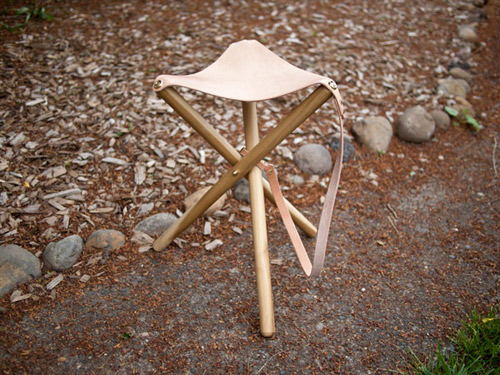 Diy Camping Stool The Happy Housewife Home Management