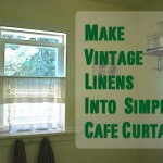 VIntage Cafe Curtains