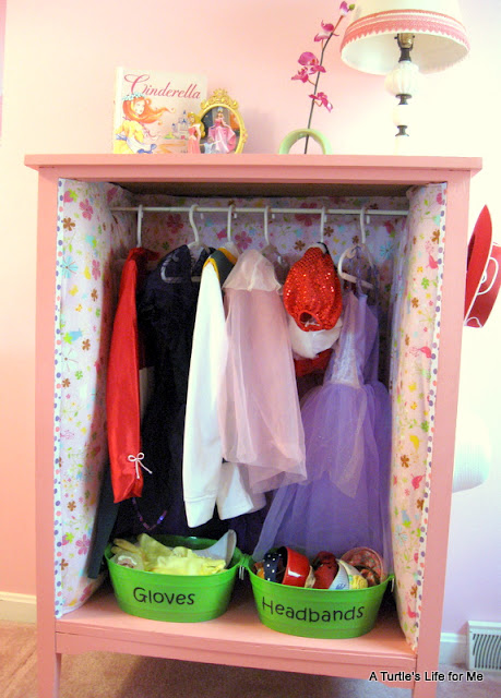 Dress up Clothes Dresser Organize Dress up Clothes
