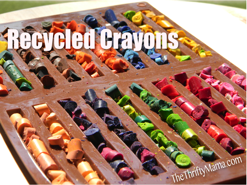 Recycled crayons homemade christmas gifts the happy housewife