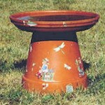ClayPotBirdBath