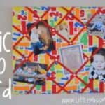 fabric memo board