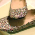 glitter flats